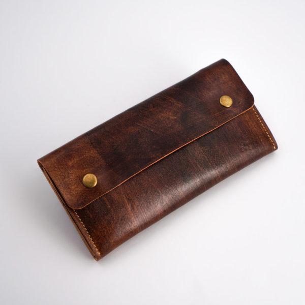 Braune Geldbörse für Damen