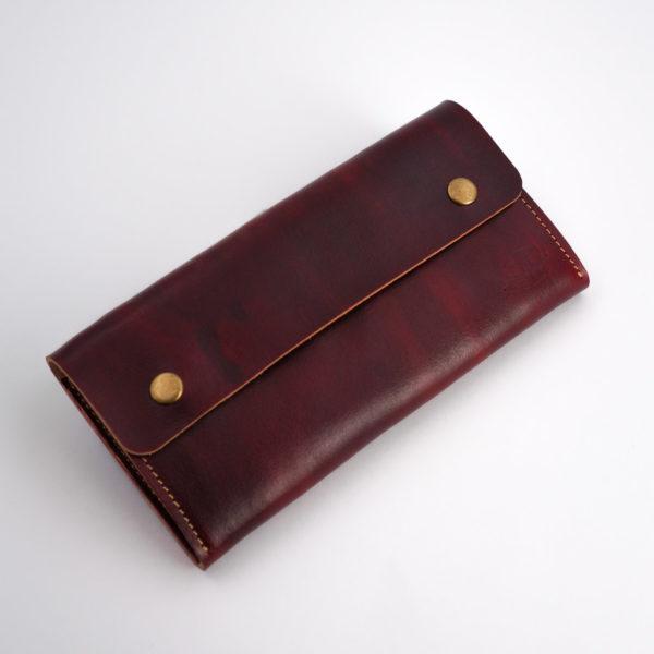 Rote Geldbörse für Damen