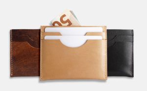 Kartenetui, Geldbeutel aus Leder