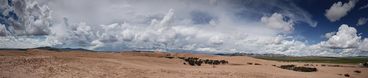 Mongolei, Sanddünen