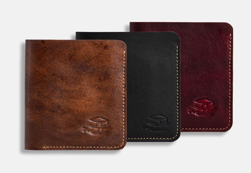 Slim Wallet für Karten & Scheine