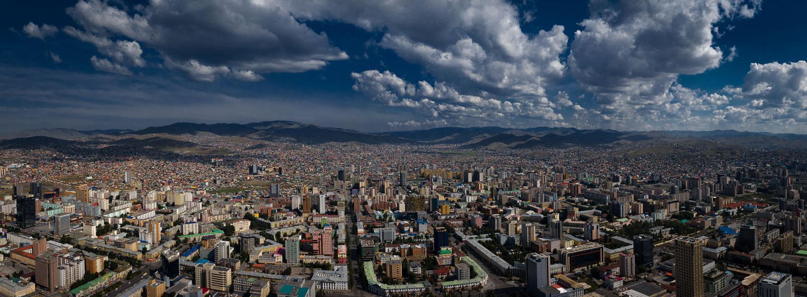 Mongolei, Hauptstadt Ulan Bator