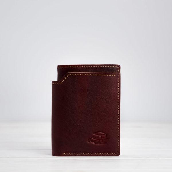 Geldbörse, Leder, Rot