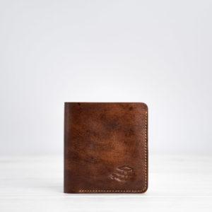 Slim Wallet, Leder, braun