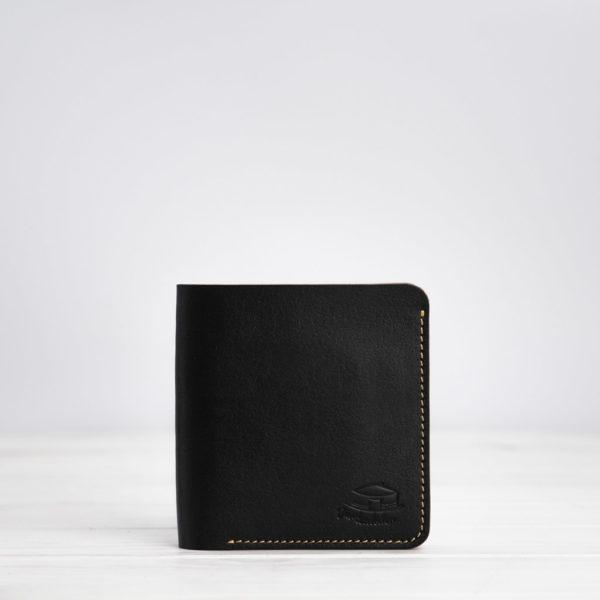 Slim Wallet, Leder, schwarz