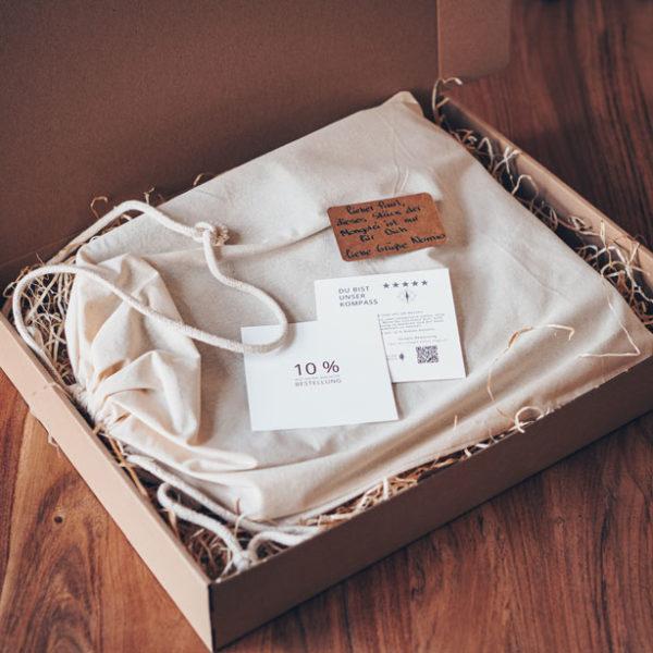 Verpackung, Einband