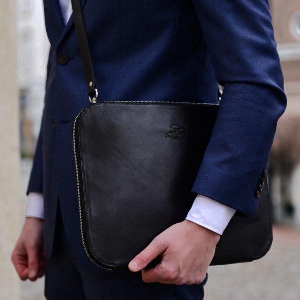 Schlanke Businesstasche, Notebooktasche, Model